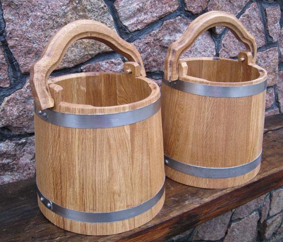 Ведро деревянное для бани своими руками 65